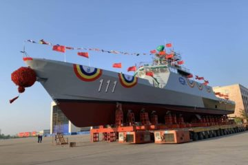First Littoral Mission Ship 'Keris' for Royal Malaysian Navy Launched in China