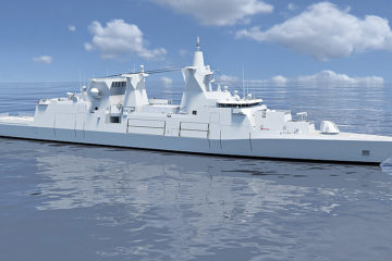 Damen Wins German Navy's MKS 180 Multi-Purpose Combat Ship Tender