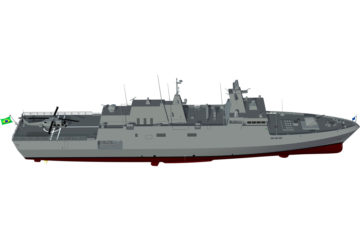 Germany's MEKO A100 Won the Brazilian Navy Tamandaré Corvette Competition