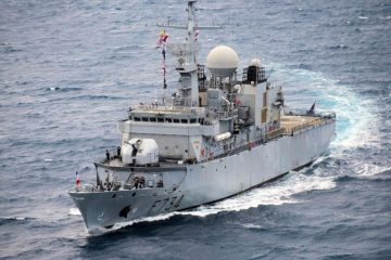 In a first, a French Navy frigate crossed the Taiwan Strait