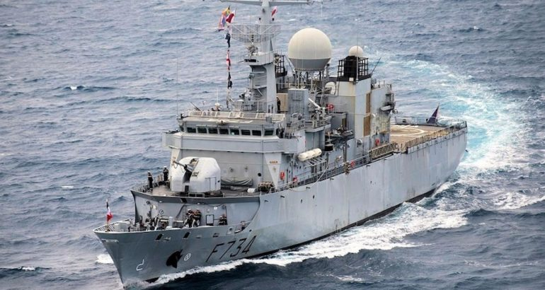 The French Navy Floréal-class surveillance frigate Vendémiaire (F734) crossed the Taiwan Strait earlier this month, Reuters unveiled yesterday.
