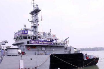 India's GRSE Delivered its 100th 'Warship' to the Indian Navy