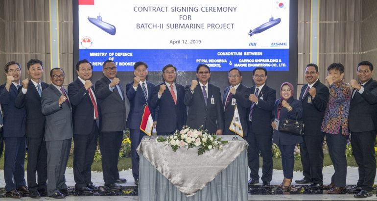 Indonesia Orders Three More Submarines from DSME in US$1.02 billion Deal