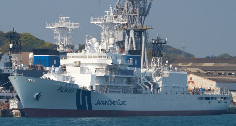 [JCG] Garde-Côtes du Japon - Page 22 Japan-Coast-Guard-New-6000-Tons-Patrol-Vessel-PLH-41-Mizuho-Fitted-with-40Mk4-Main-Gun-1-770x410
