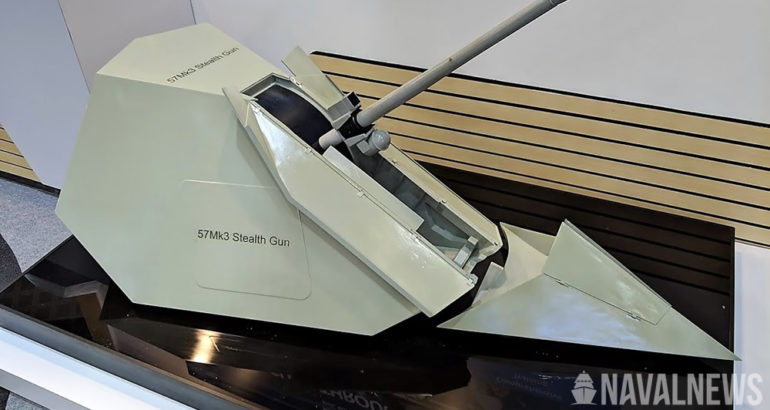 LIMA 2019 All Six 57mm Main Guns for LCS Frigates Already Built