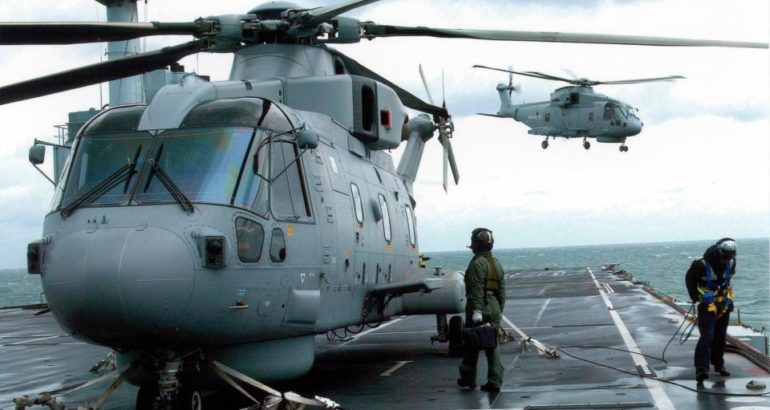 Poland to Procure four AW101 maritime helicopters for ASW and SAR Missions