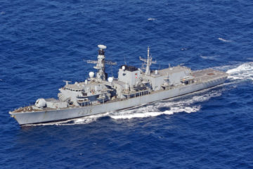 Duqm Naval Dockyard Completes Double Engine Replacement Of A Royal Navy Ship In Oman