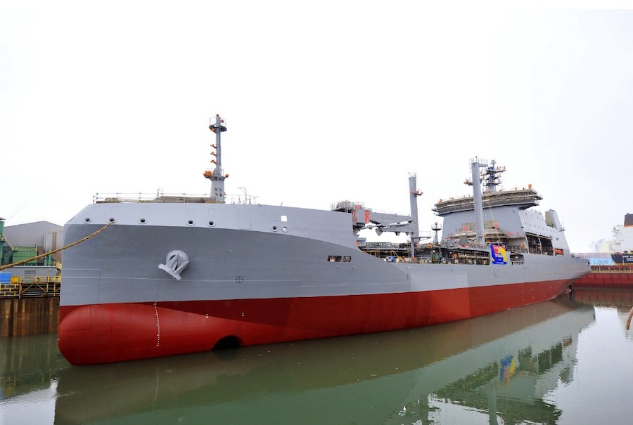 At a launch ceremony this week, the Royal New Zealand Navy's (RNZN) first purpose-built ship in 10 years, the HMNZS Aotearoa, finally found herself in her natural environment only eight months after her keel was laid in a South Korean shipyard, the RNZN press office announced on April 25.