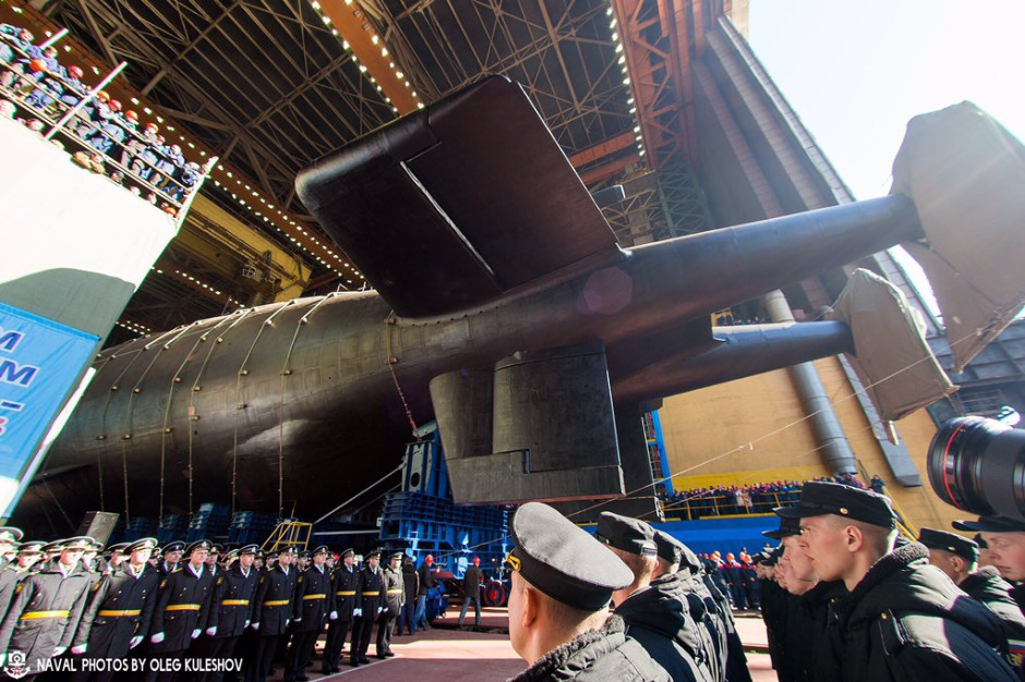 Russia Launched its Project 09852 Special Mission Submarine 'Belgorod' -  Naval News