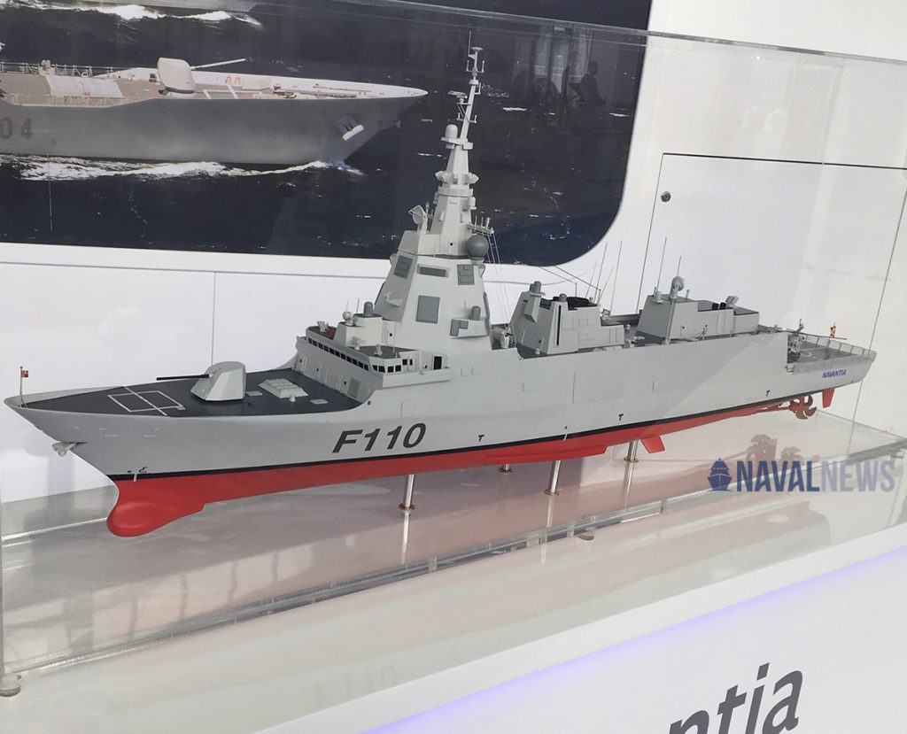 Spain Approved Funding for Construction of new F-110 Frigates for the Spanish Navy 1