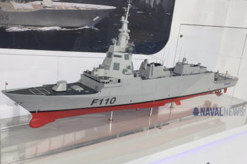NAVANTIA signs F-110 Frigates Construction Contract with Spanish MoD
