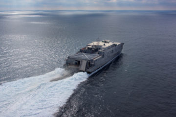Austal USA Cut 1st Aluminum for U.S. Navy's 13th EPF