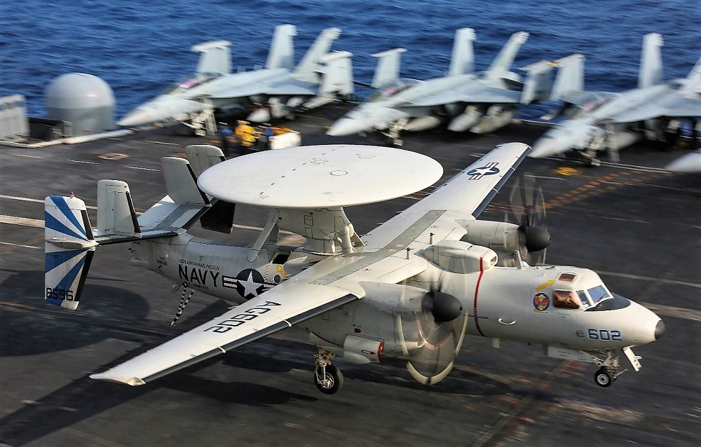 U.S. Navy Procures 24 E-2D Advanced Hawkeye Aircraft