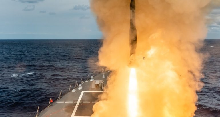 Sailors aboard US Navy USS Thomas Hudner (DDG 116), in partnership with Program Executive Office Integrated Warfare Systems (PEO IWS), successfully executed the first live-fire engagement with the new AEGIS Virtual Twin system, a prototype of the AEGIS Virtual Combat Management System, the PEO IWS said on April 23.