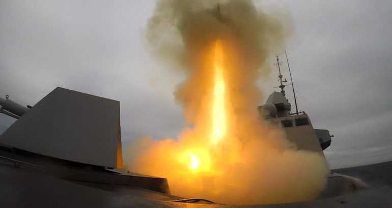 Formidable Shield 2019 French Navy FREMM Frigate Intercepts Supersonic Target