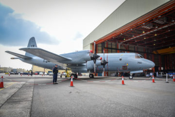 Hellenic Navy: Delivery of the first interim solution upgraded P-3B MPA
