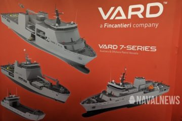 IMDEX 2019: New members in VARD's 7-series family of support ships
