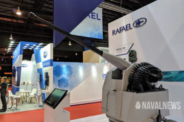 IMDEX 2019: Rafael Typhoon Mk-30c Naval Gun on Display