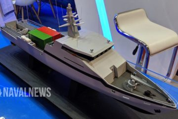 IMDEX 2019: New OPV-45 launched by Israel Shipyards