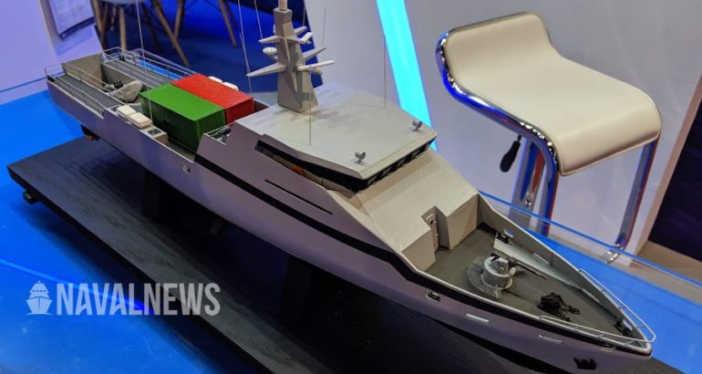 Israel Shipyards Ltd. unveils its new multi-purpose Offshore Patrol Vessel, OPV-45, at IMDEX ASIA 2019. The OPV-45 is designed for a wide range of Naval, para-military and HLS missions, and can carry a variety of payloads according to mission requirements.