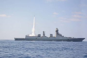 Indian Navy completes MRSAM first cooperative engagement firing test