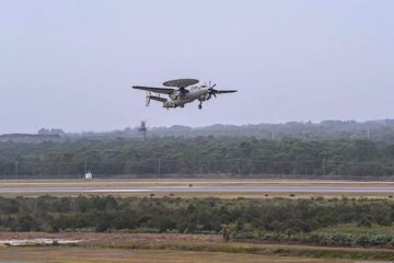 Japan receives first E-2D Advanced Hawkeye AEW&C aircraft