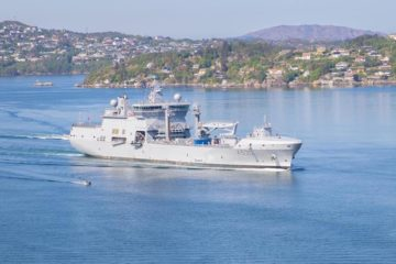 KNM Maud multirole supply vessel commissioned with Royal Norwegian Navy