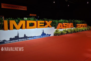 Opening of IMDEX Asia 2019 in Singapore