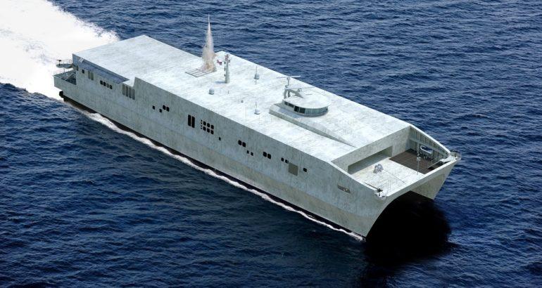Large USV (unmanned EPF)