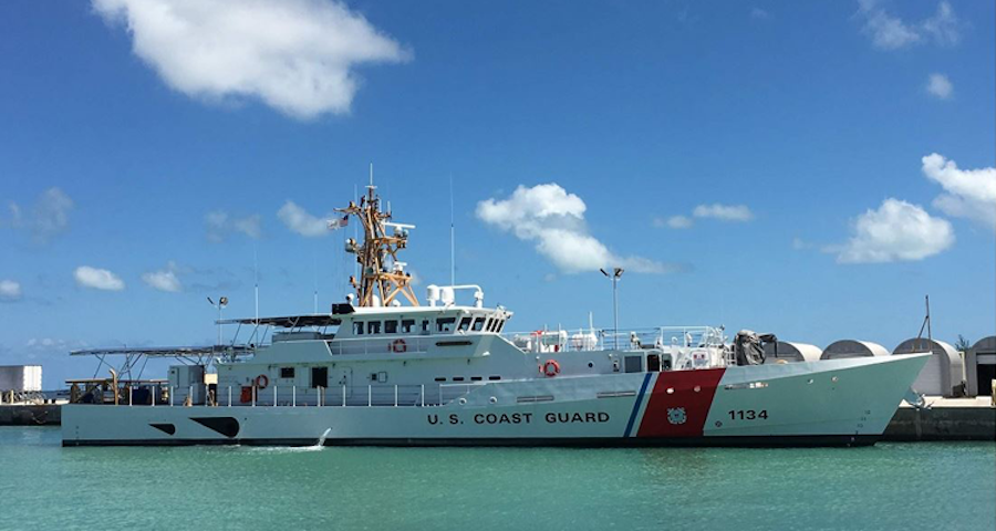 The US Coast Guard accepted delivery of the 34th fast response cutter (FRC), William Hart, in Key West, Florida, the service press office said on May 23, 2019. The cutter will be the third of three FRCs stationed in Honolulu.