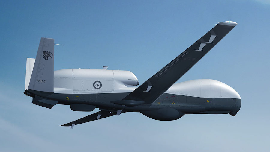 Northrop Grumman has been awarded a $65 million advance acquisition contract for long-lead components for the manufacture and delivery of three LRIP Lot 5 MQ-4C Triton unmanned aircraft for the US Navy and the Australian Defense Force (ADF).