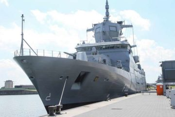 "German Navy finally commissioned first F125 frigate ""Baden-Württemberg"""