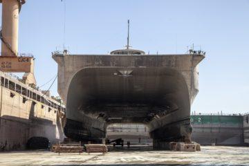 Babcock's Duqm Dockyard in Oman Completes First Overhaul of US Vessel