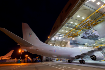 Boeing rolls out first British P-8A Poseidon MPA