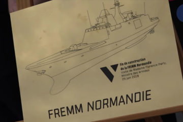 Naval Group Celebrated the end of the ASW FREMM Frigate Program