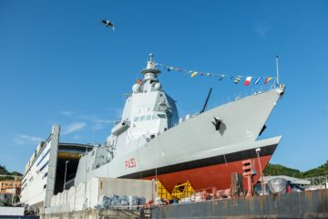 Fincantieri Launched its 1st PPA 'Thaon Di Revel' for the Italian Navy