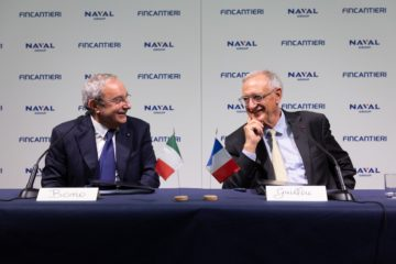 Fincantieri & Naval Group Sign a Joint Venture Agreement