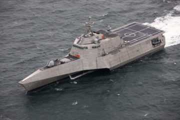 "LCS 20 ""USS Cincinnati"" delivered to US Navy"
