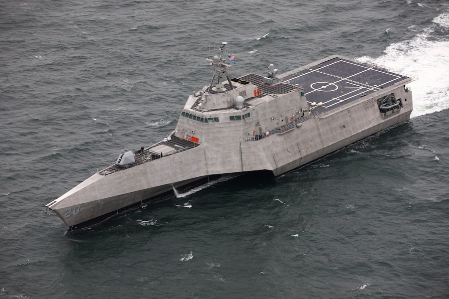 Austal USA delivered its 10th Independence-variant littoral combat ship (LCS) to the U.S. Navy. The future USS Cincinnati (LCS 20) will be the 18th LCS to enter the fleet.