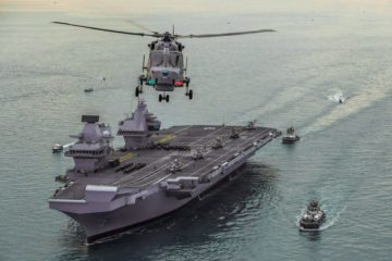 Royal Navy readies HMS Queen Elizabeth carrier for NATO rapid reaction force