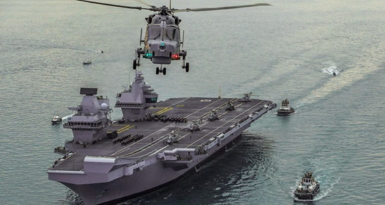 The British Prime Minister announced on June 4th that the Royal Navy will ready the UK's largest and most advanced warship ever to join allies in forming part of NATO's major 'Readiness Initiative' when she becomes operational.