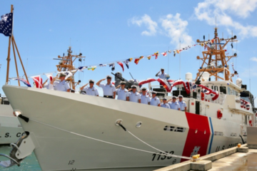 "US Coast Guard commissions 33rd Fast Response Cutter ""Joseph Doyle"""