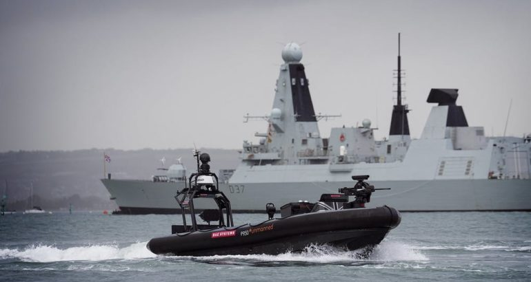 BAE Systems Completes P950 RIB USV Trials with MSI RWS 1