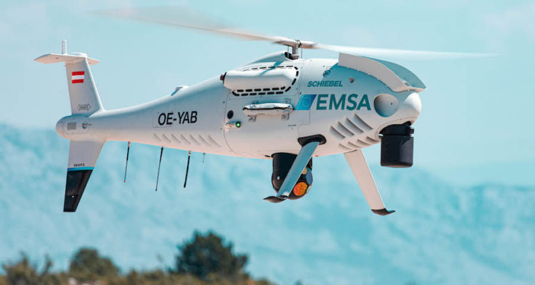 The Maritime Safety Directorate of the Ministry of Sea, Transport and Infrastructure of the Republic of Croatia issued the first mobilization request to the European Maritime Safety Agency (EMSA) for CAMCOPTER S-100 maritime surveillance services, Schiebel announced on July 23.