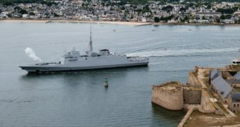DGA takes delivery of Final ASW FREMM Frigate 'Normandie'