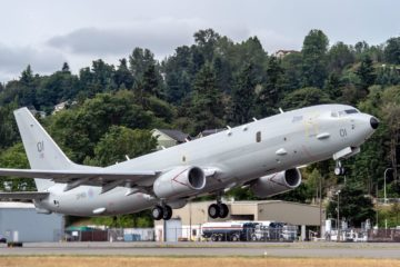 First Poseidon MRA Mk1 for United Kingdom takes flight