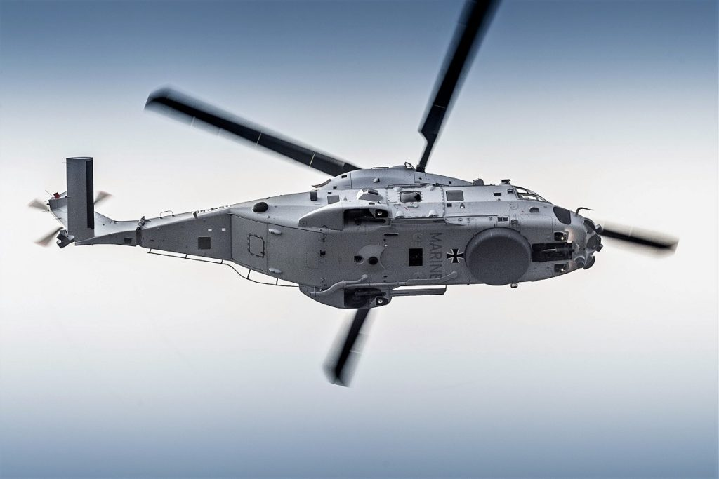 German Navy NH90 Sea Lion