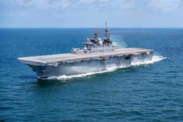 HII Completes Builder's Trials for Amphibious Assault Ship Tripoli (LHA 7)