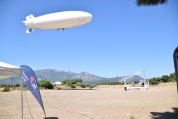 Hellenic Coast Guard Testing Tethered Aerostat for FRONTEX Mission
