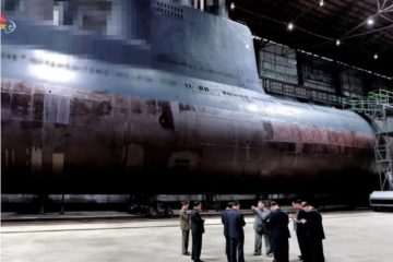 North Korea Reveals New Ballistic Missile Submarine Based on Romeo-class